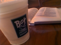Bible-time at Coffee Shop