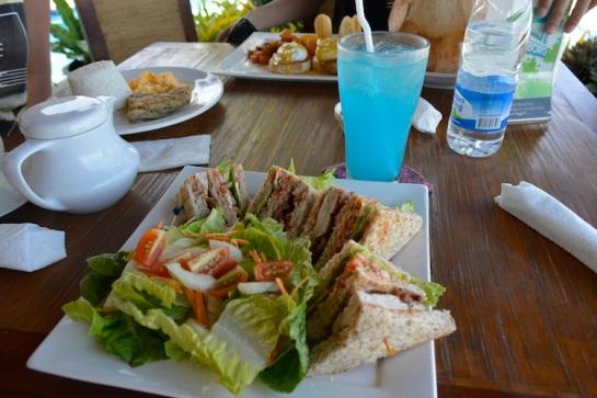 @ Kahuna Beach Resort for breakfast