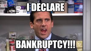 i declare bankruptcy