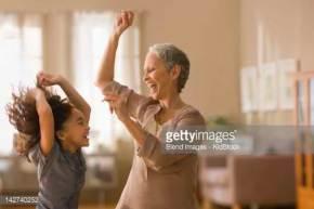 grandmother-granddaughter-dancing