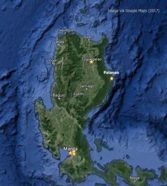 Manila-Tugue-Palanan