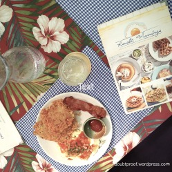 rustic mornings table setting